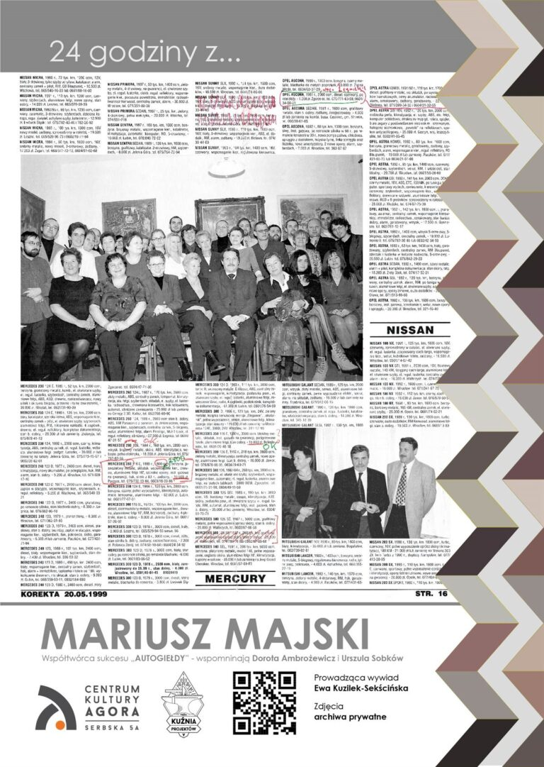 Mariusz Majski - Autogiełda - wspomnienia