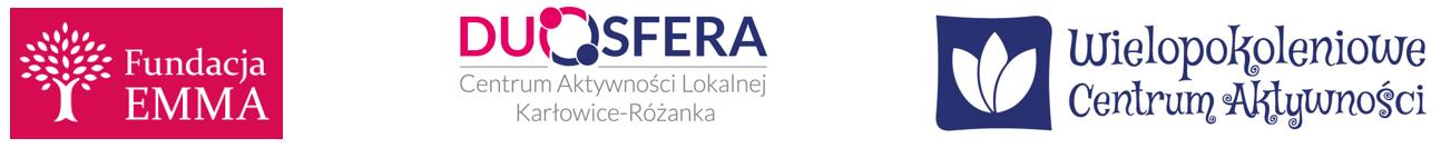 Logo Fundacja EMMA, CAL Duosfera, WCA