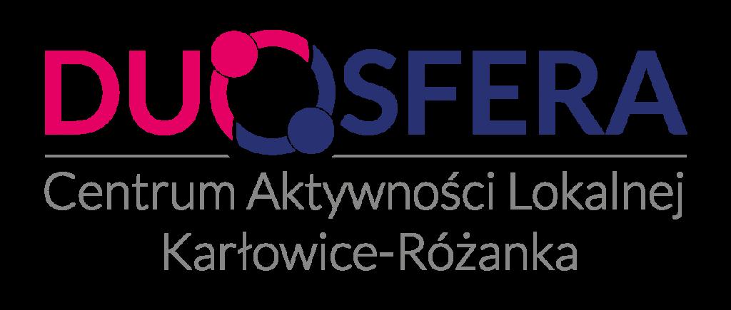 DUOSFERA - Centrum Aktywności Lokalnej Karłowice-Różanka - logo CAL DUOSFERA transparent